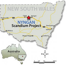 Nyngan Scandium Project | Scandium International Mining Corporation